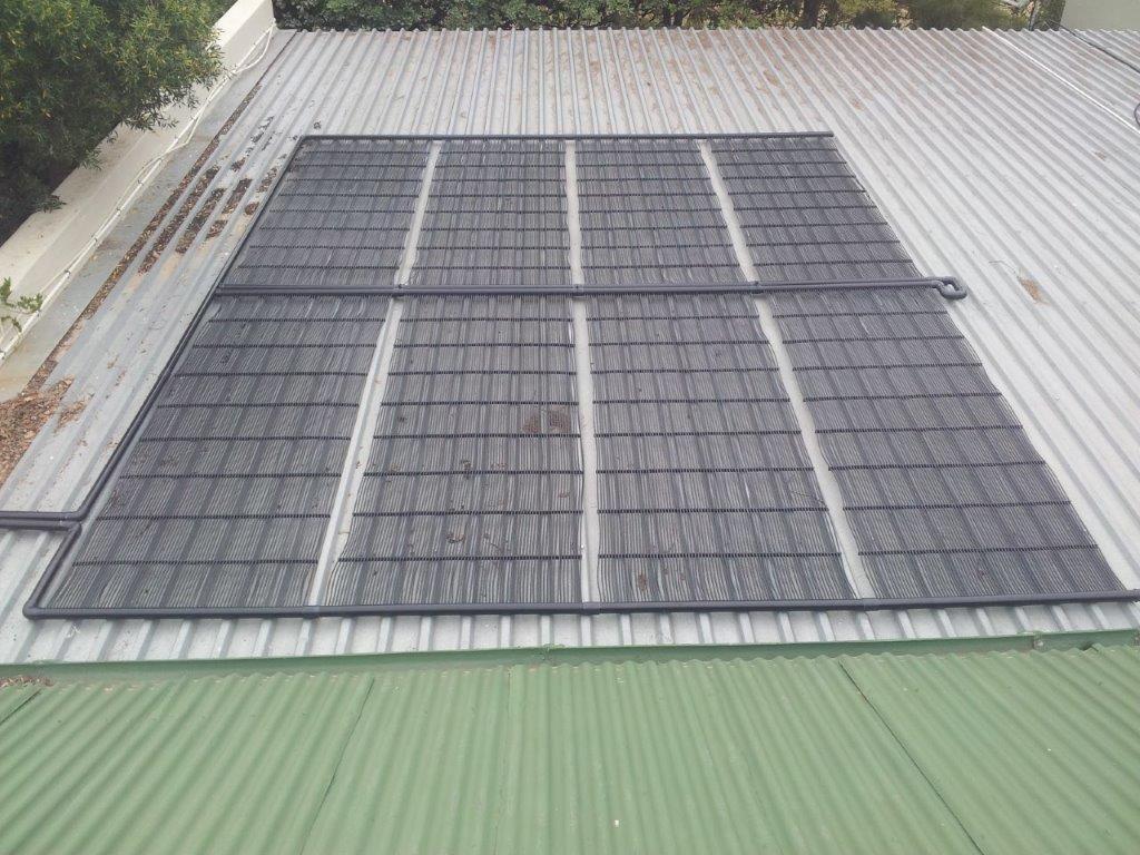 Solnet pool heating panels