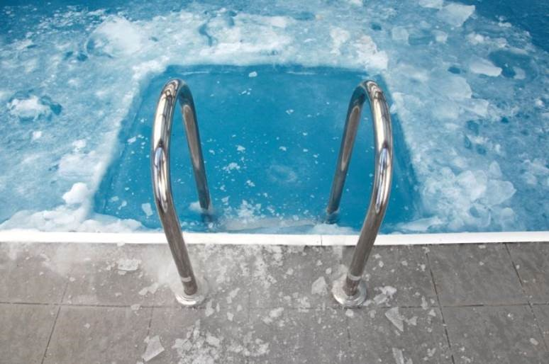 ice cold pool